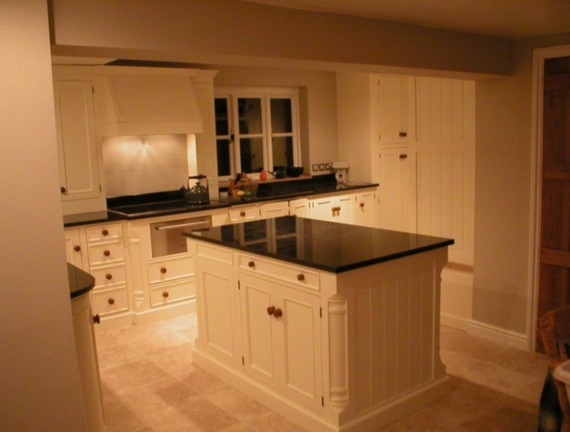 Cream And Black Kitchen Images